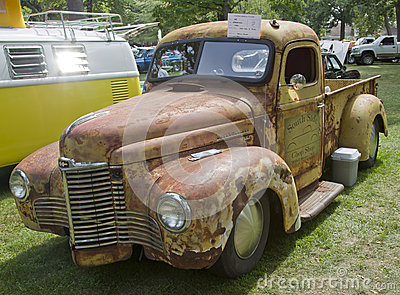 1948 International KB2 Truck Editorial Photo