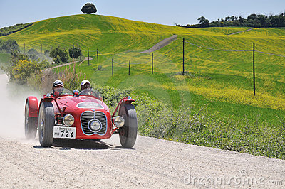 A 1948 red Maserati A6 GCS Editorial Image