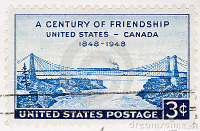1948  Stamp FriendShip United States Canada