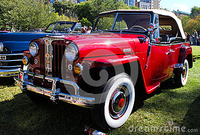 1948 Willy s Jeepster Editorial Stock Photo