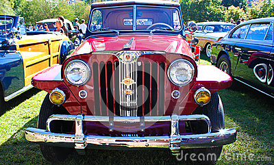 1948 Willy s Jeepster Editorial Image