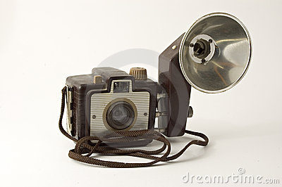 1950 Camera and Flash