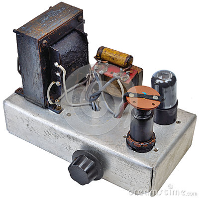 Free 1950 S Home Made Amp Ww2 Surplus Components Stock Image - 32686661