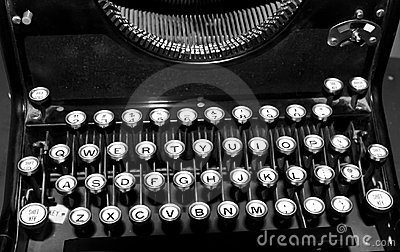 1950 s Typewriter Keys