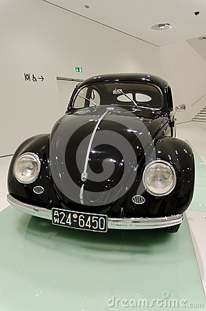 1950 Volkswagen beetle Editorial Stock Image