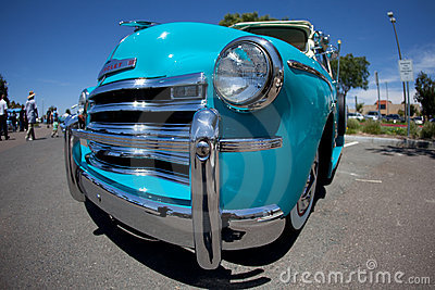 1950s Chevy Truck Editorial Stock Photo
