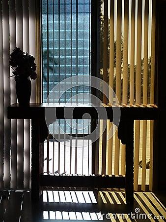 1950s Modernist hall: entry detail