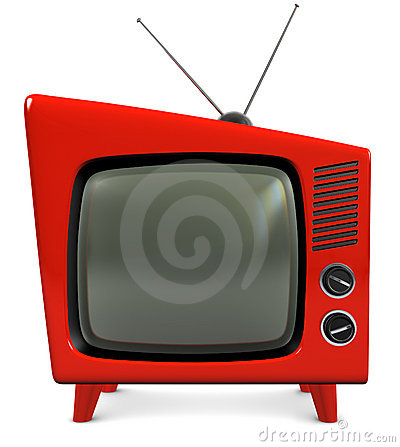 Free 1950s TV Set Stock Photography - 14395382