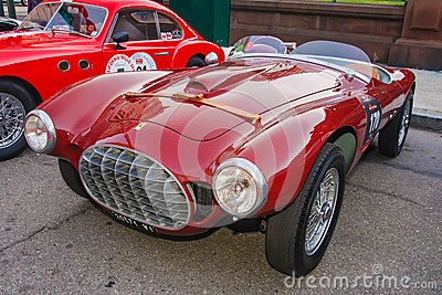 1951 Ferrari 212 Barchetta Editorial Photography