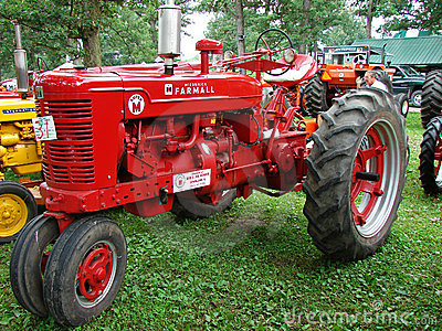1952 Farmall Super M Editorial Image