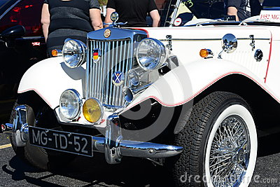 1952 MG TD Editorial Image