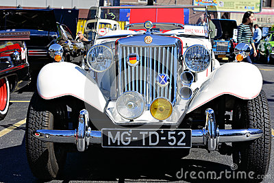 1952 MG TD Editorial Stock Photo