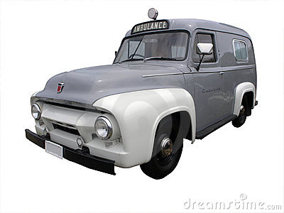 1954 Ford V8 F100 Ambulance