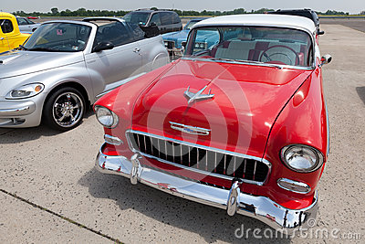 1955 Chevrolet Belair Sport Coupe Editorial Image
