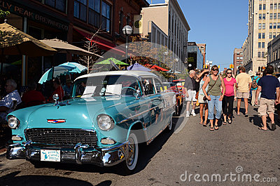 1955 Chevy Bel-Air Editorial Photography