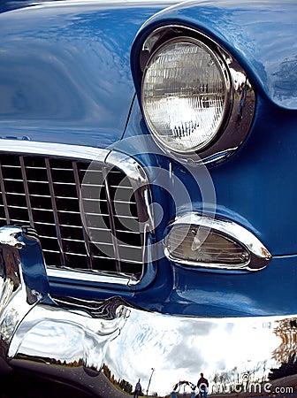 1955 Chevy Sedan Classic Front