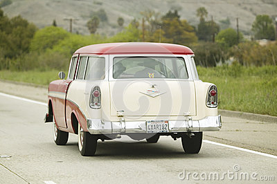 1955 Class Ford station wagon Editorial Photography