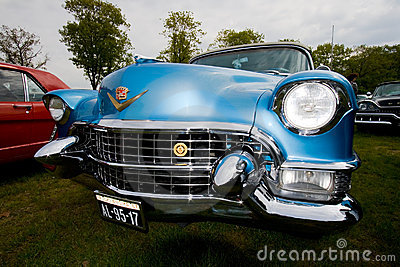 1955 Eldorado Cadillac klassieke auto Redactionele Fotografie