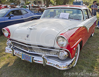 1955 Ford Crown Victoria Editorial Stock Photo