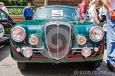 1955 Lancia Aurelia B20S Editorial Stock Photo