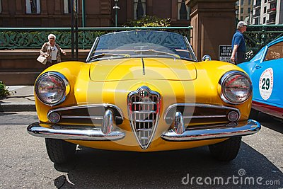 1956 Alfa Romeo Giulietta Spider Editorial Stock Photo