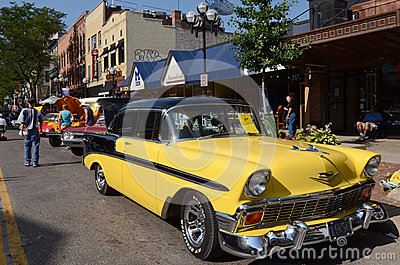 1956 Chevrolet Bel Air Editorial Photo