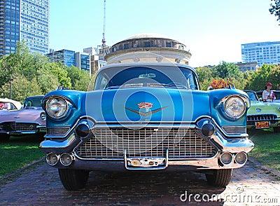 1957 Cadillac Biarritz Vintage Automobile Editorial Image