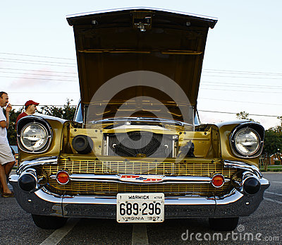1957 Chevy Editorial Photography