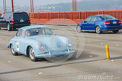 1957 Porsche 365 Coupe Editorial Photo
