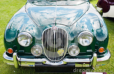 1959 Jaguar MARK 2 Editorial Photography