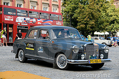 1959 Mercedes W121 190D Ponton Editorial Stock Image