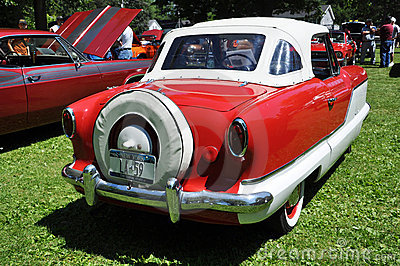 1959 Nash Metropolitan Editorial Stock Photo