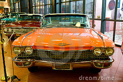 1960 Cadillac de Ville Coupe Editorial Photography