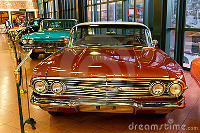 1960 Chevrolet Impala Pillarless Sedan Editorial Stock Photo