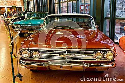 1960 Chevrolet Impala Pillarless Sedan Editorial Stock Photo