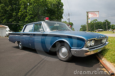 1960 Ford police car Editorial Image