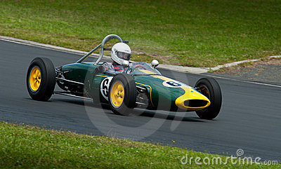 1960 Lotus 18FJ  race car Editorial Stock Image