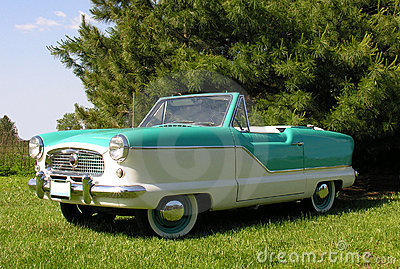 1960 Nash convertible