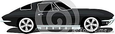 1960 s American Corvette