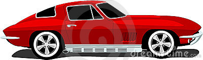 1960 s Corvette Sports Car