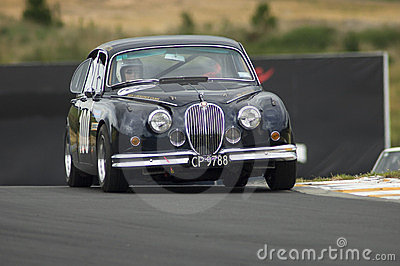 1962 Jaguar 3.8 MkII  race car Editorial Photography