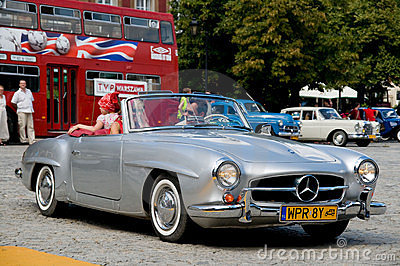 1962 Mercedes 190 SL Editorial Stock Photo