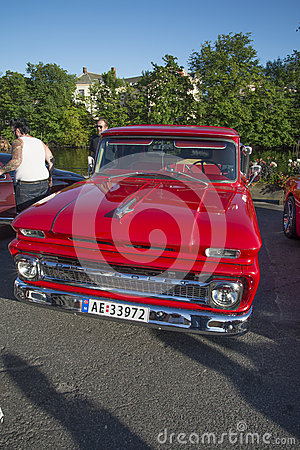 Free 1963 Chevrolet C-10 Stepside Pickup Stock Photos - 43101863