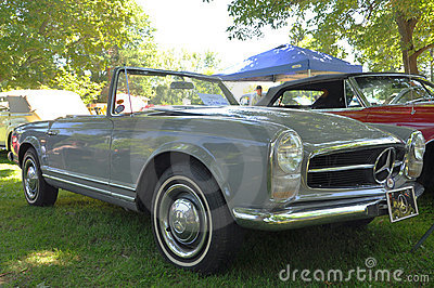 1964 Mercedes Benz 230 SL convertible Editorial Photography
