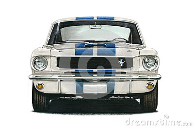 1965 Ford GT350 Shelby Mustang Coupe Editorial Photography
