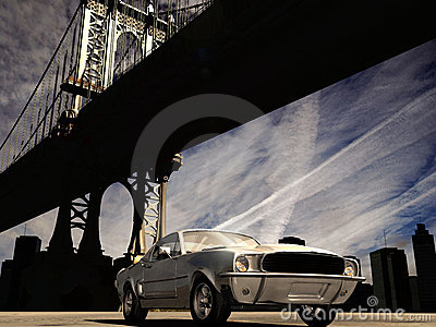 1967 Mustang in Manhattan