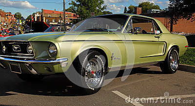 1968 mustang gt Editorial Stock Image