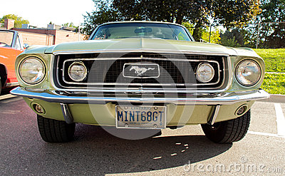 1968 mustang gt Editorial Photography