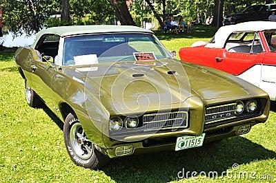 1969 Pontiac GTO Editorial Photo