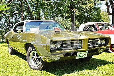1969 Pontiac GTO Editorial Stock Photo